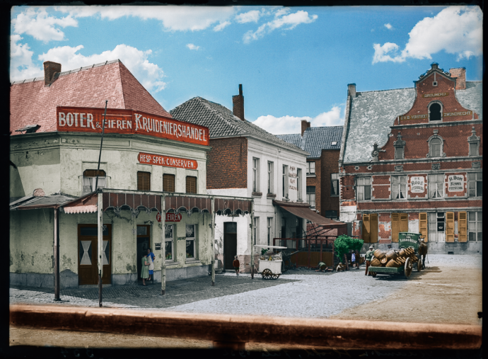 Vlaams Hoofd - 1930 - Colorized by Perry Dolmans