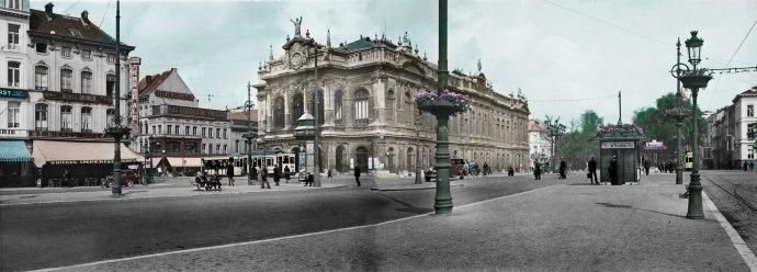 Antwerpen - Kipdorpbrug 1932