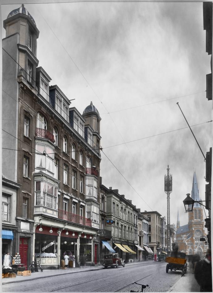 Antwerpen - Kerkstraat 1934