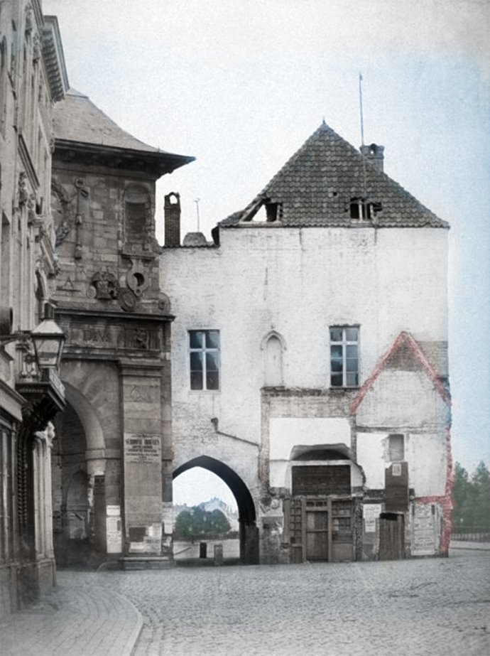 Antwerpen - Kipdorpvest - omstreeks 1860