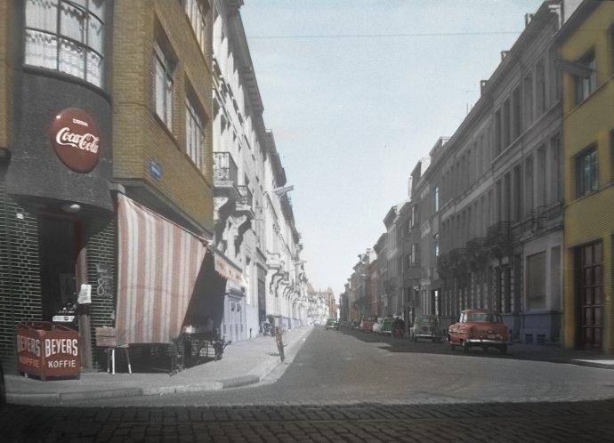 Antwerpen - Milisstraat - 1959