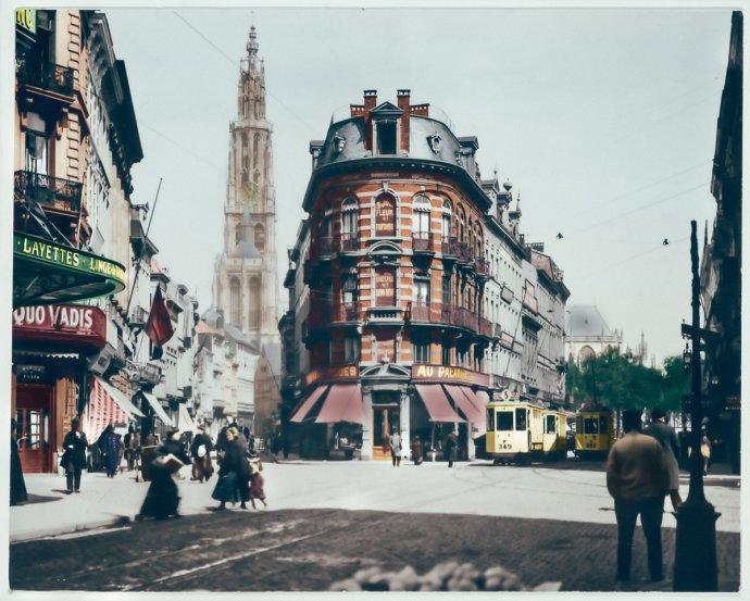 Antwerpen - Nationalestraat - Modepaleis - 1910