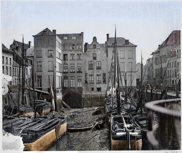 Antwerpen - Sint-Jansvliet - 1872