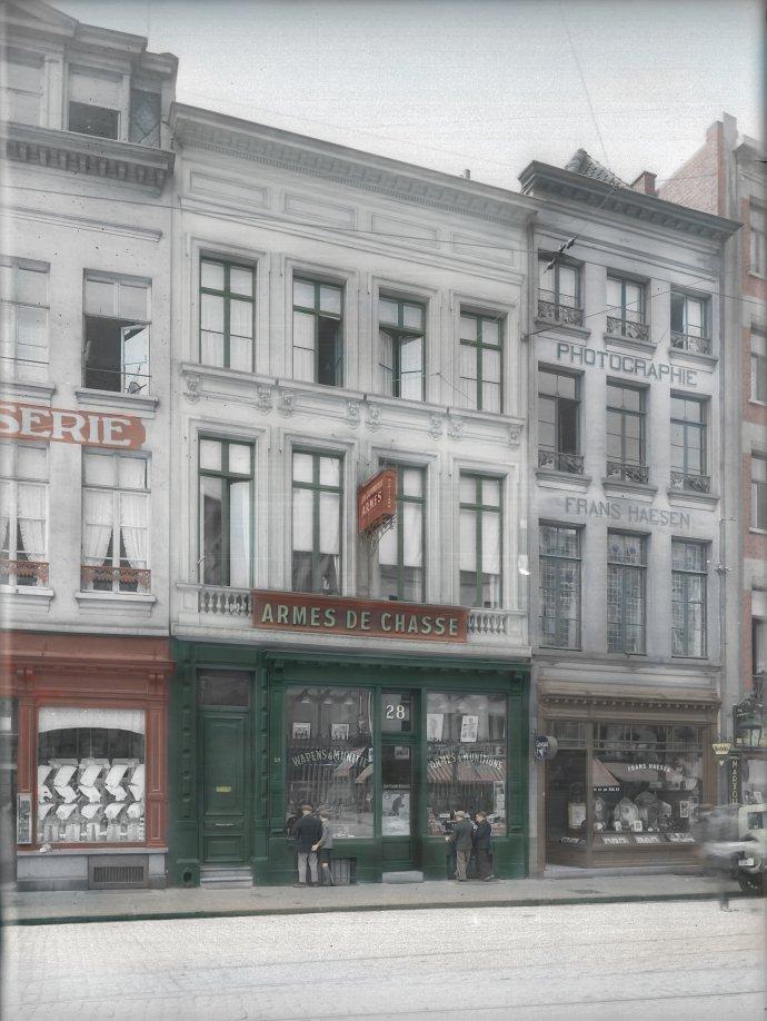 Antwerpen - Suikerrui 26 - 28 - 1931