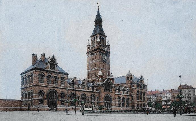 Antwerpen - Zuidstation - Rond 1900